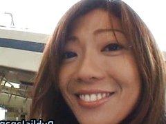 Juri Wakatsuki Lovely Asian model enjoys
