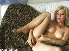 German Amateur Show Her Beautiful S