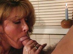 Jill Kelly cumsprayed on the belly