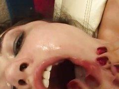 Sasha Grey face fucking