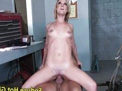 Blonde anal scene