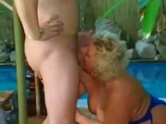 Older couple have kinky sex with each other