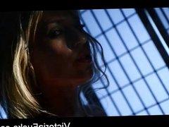Sexy blond hottie Victoria White