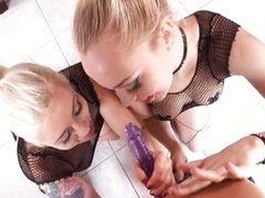Annette Schwarz and Lorelei dildo games