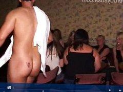 British tarts love sucking cock in public