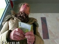 Busty Czech babe paid for hardcore sex