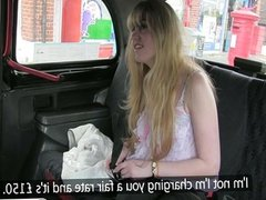 Taxi driver overcharges an innocent cute girl
