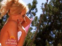 Kana Mayham has fun on Camp Playboy