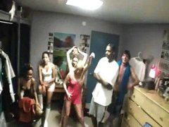 College whipped cream party becomes orgy