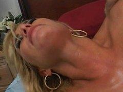 Big tits Blonde Ride A Huge Dick