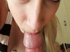 Crazy blonde GF Raine Mae gets deep anal pene