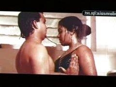 Mallu Aunty indira in shower
