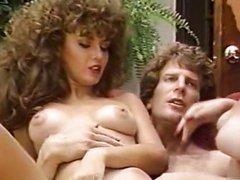 Porn threesome in the garden