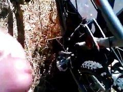 Mountain Biker Jerk-Off