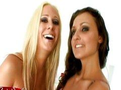 Aletta Ocean Lesbian 3some Facial Sluts