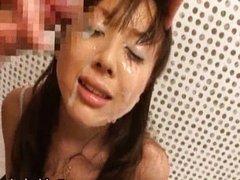 Japanese Honey Sucking Cock POV