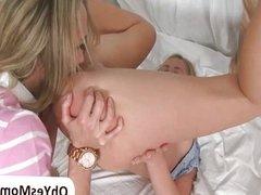 Stepmom Brandi Love teaching Casi James