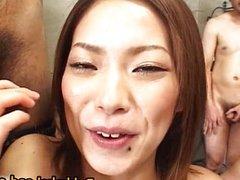 Bukkake Orgy With Yukari Mayama Getting