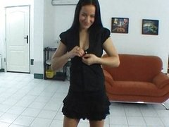 Lapdance by perfectly shaped czech chick