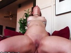 Hot Charlotte Vale spreads both holes