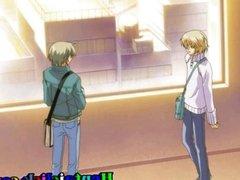 Cute anime gay tight ass penetrated
