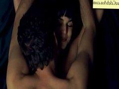 Clara Lago topless and sex from El juego del