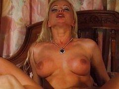 Blonde Silvia Saint fuck in all holes