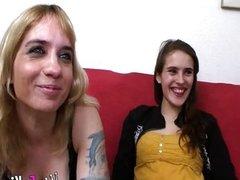 Tia y sobrina follando juntas