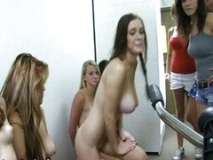 Horny lesbians fingering and licking each oth