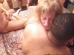hard anal sex during swingers party part 2