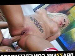 Blonde wife Jessica Nyx gets fucked