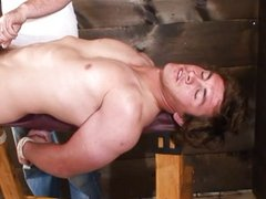 Mystery Straight Guy Gives Tortuous Handjob