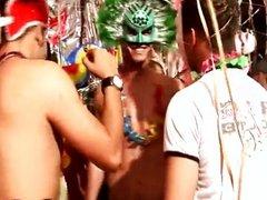 Latino gay bareback sex