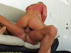 Kelly Broox fucked and swallows everything