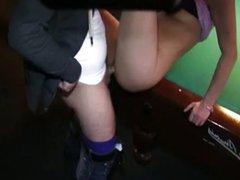 german girl fucked in billard cafe