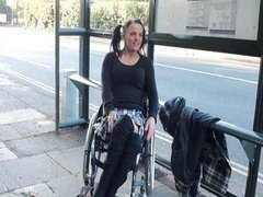 Paraprincess public nudity and handicapped