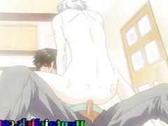 Hentai gay boy gets bareback fucked