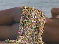 Marlene Mourreau Nude Beach Photoshoot