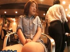 Ai Haneda Asian model shows her cute