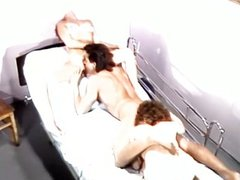 Jizz treatment for lusty sisters