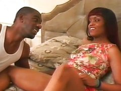 Enormous black cock for lusty ebony