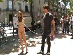 Pidiendo dinero en la calle