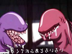Hentai girls fucked by tentacles and monsters