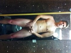 Naked Wank In The Gents