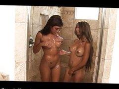 Capri Cavalli soapy snatch massage