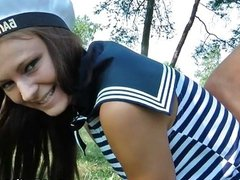 group sex in the nature of Russian sailors