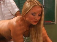 Hot chicks with enema hands-on experience