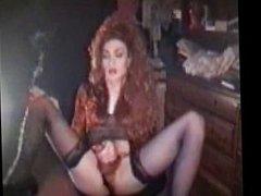 Shemale cum smoking