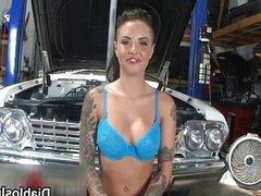 Horny Christy Mack showing