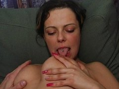 Passionate couple sex vaginal heat